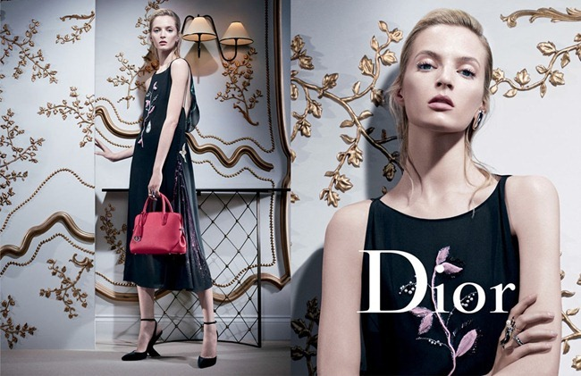 CAMPAIGN- Mariacarla Boscono, Elise Crombez, DAria Strokous & Iselin Steiro for Dior Fall 2013 by Willy Vanderperre. www.imageamplified.com, Image Amplified (1)