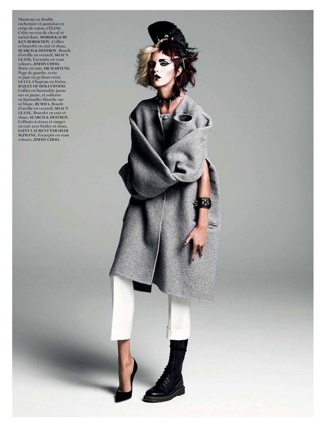 VOGUE PARIS- Anja Rubik in God Save the Queen by Inez & Vinoodh. Emmanuelle Alt, August 2013, www.imageamplified.com, Image Amplified (6)