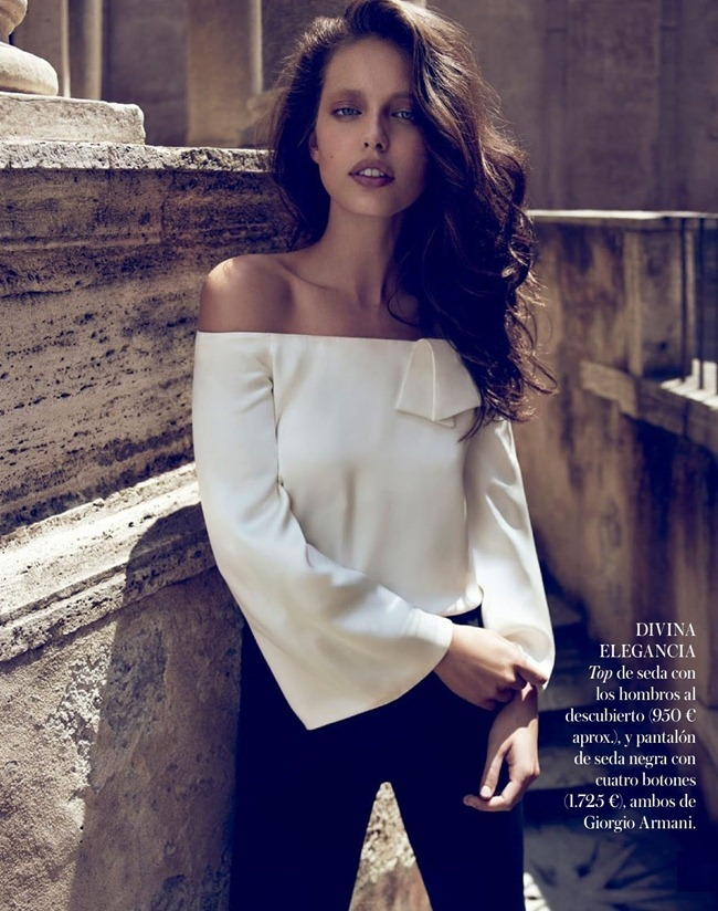 VOGUE SPAIN- Emily DiDonato in Ave Giorgio by Miguel Reveriego. Belen Antolin, August 2013, www.imageamplified.com, Image Amplified (1)