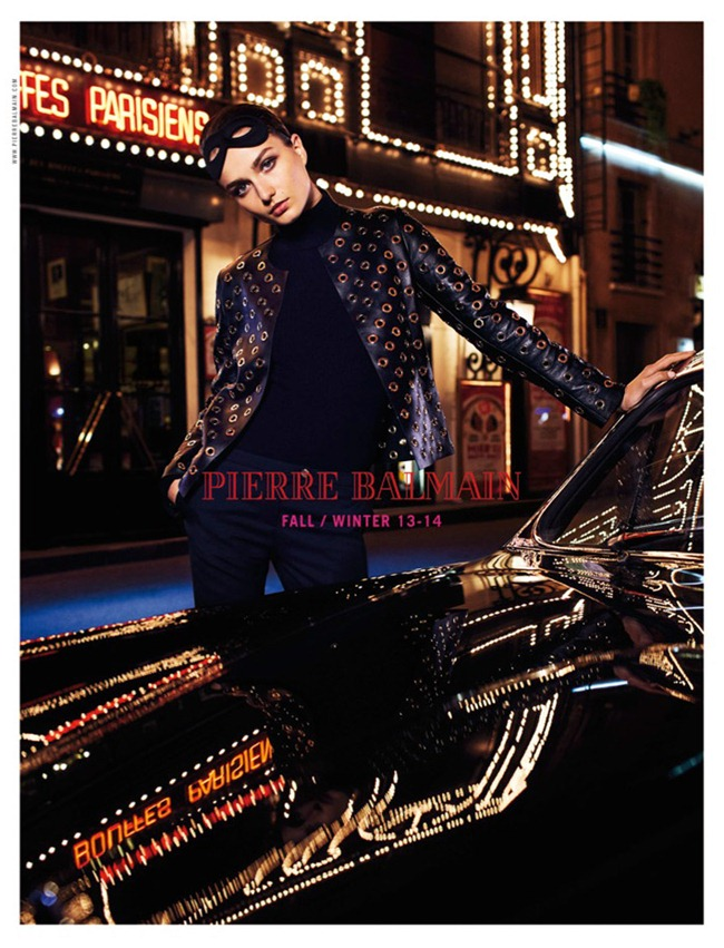CAMPAIGN- Andreea Diaconu & Paolo Anchisi for Pierre Balmain Fall 2013 by Lachlan Bailey. Geraldine Saglio, www.imageamplified.com, Image Amplified (3)