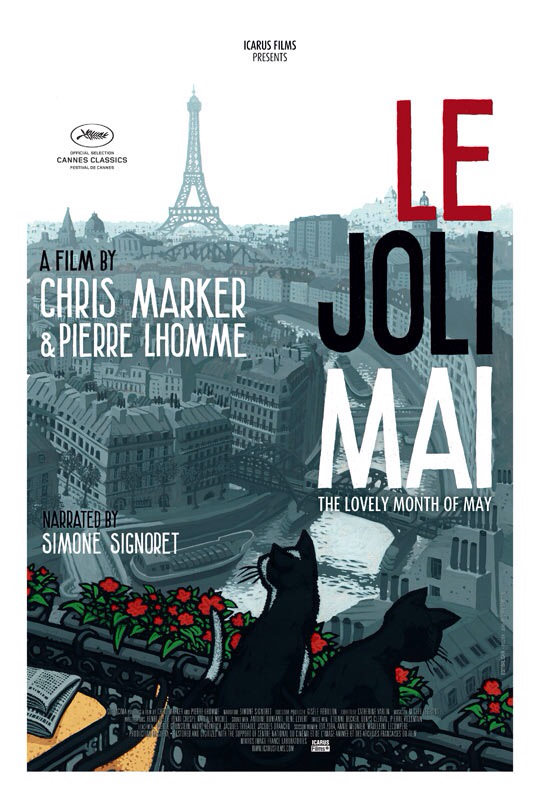 CINEMA SCAPE: Le Joli Mai by Chris Marker & Pierre Lhomme. In Theaters September 13, 2013