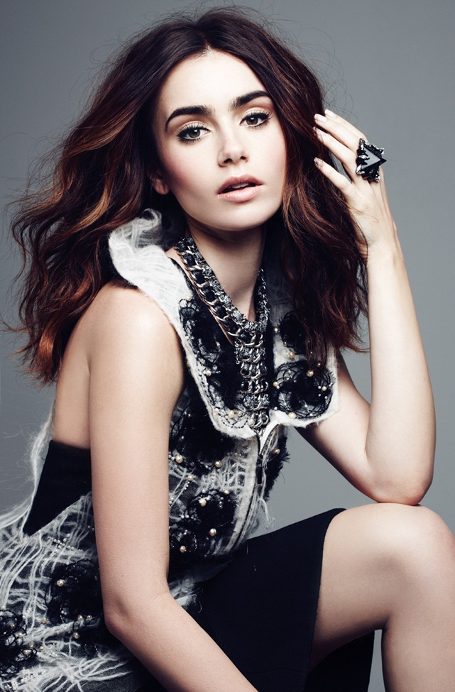 ELLE CANADA- Lily Collins by Max ABadian. Isabel Dupre, September 2013, www.imageamplified.com, Image Amplified (4)