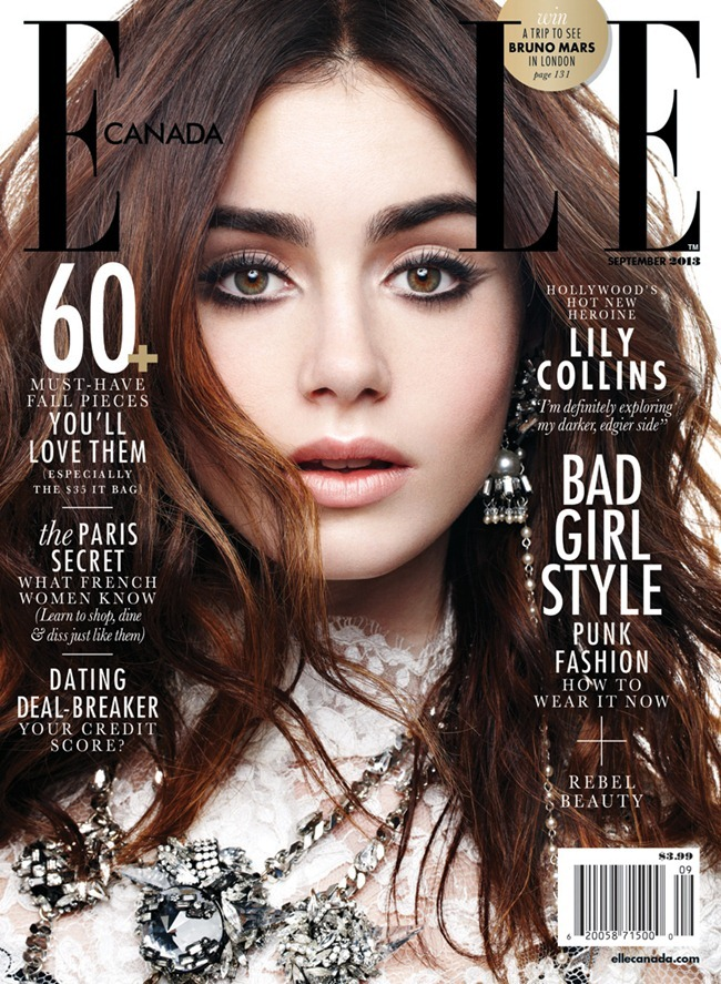 ELLE CANADA- Lily Collins by Max ABadian. Isabel Dupre, September 2013, www.imageamplified.com, Image Amplified (1)