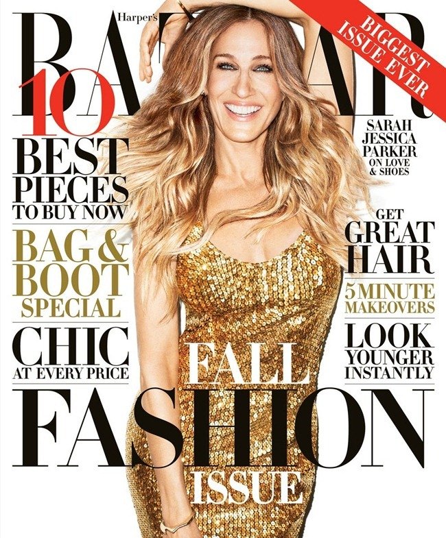 HARPER'S BAZAAR MAGAZINE- Sarah Jessica Parker by Terry Richardson. September 2013, www.imageamplified.com, Image Amplified (4)