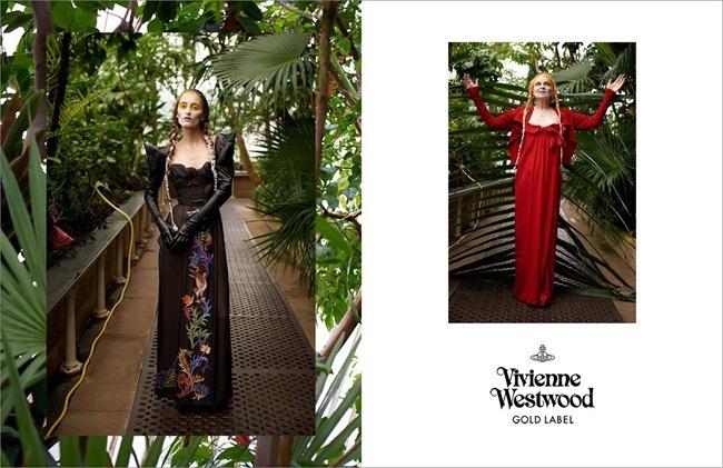 CAMPAIGN- Iekeliene Stange & Vivienne Westwood for Vivienne Westwood Fall 2013 by Jack Pierson. www.imageamplified.com, Image Amplified (2)