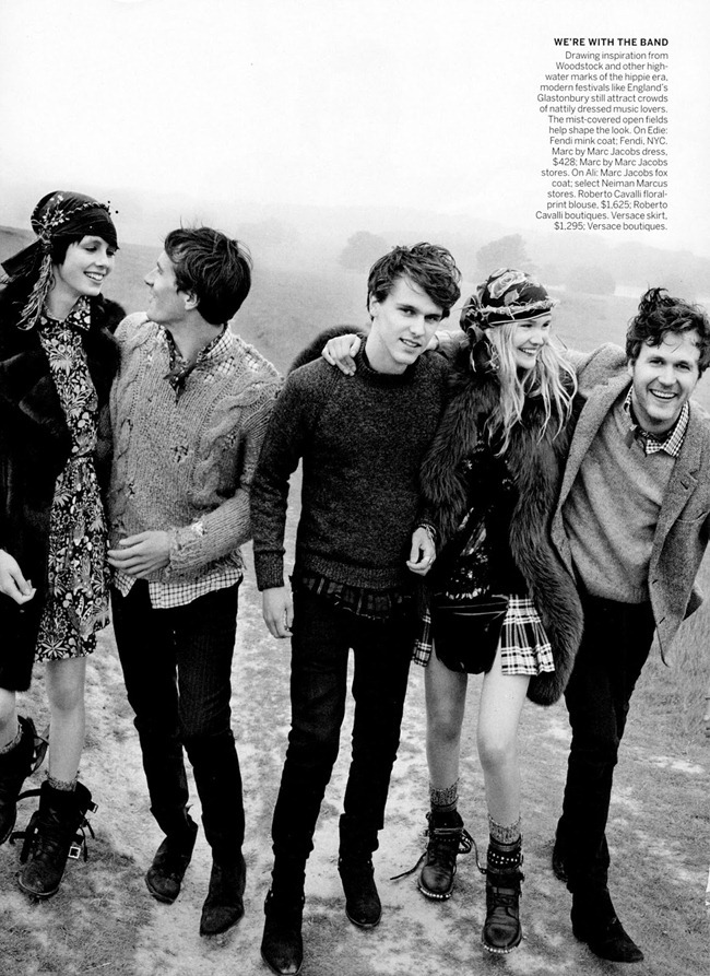VOGUE MAGAZINE- Edie Campbell & Ferry Brothers in Ragged Glory by Mario Testino. Camilla Nickerson, September 2013, www.imageamplified.com, Image Amplified (2)