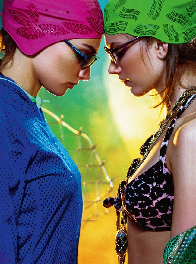 DOLCE VITA MAGAZINE- Nika & Kristina K in Summer Queens by Matúš Tóth. Maria Kokutik, www.imageamplified.com, Image Amplified (2)