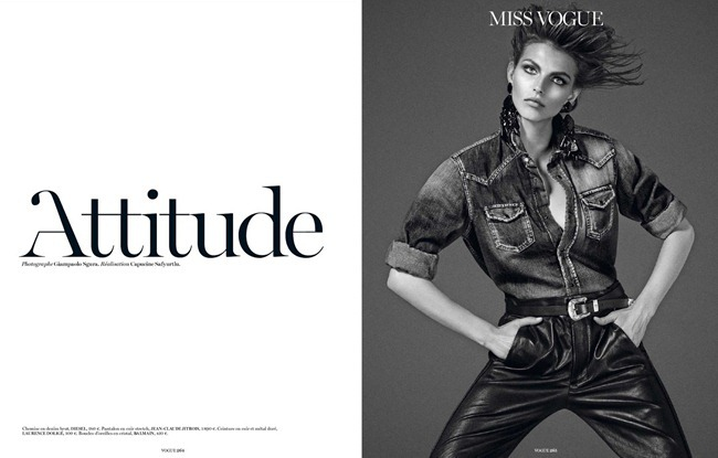 VOGUE PARIS- Attitude by Giampaolo Sgura. Capucine Safyurtlu, September 2013, www.imageamplified.com, Image Amplified