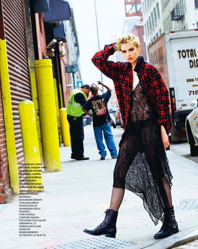 MARIE CLAIRE FRANCE- Stella Maxwell in Punk by Arthur Elgort. Mako Yamazaki, September 2013, www.imageamplified.com, Image Amplified (16)