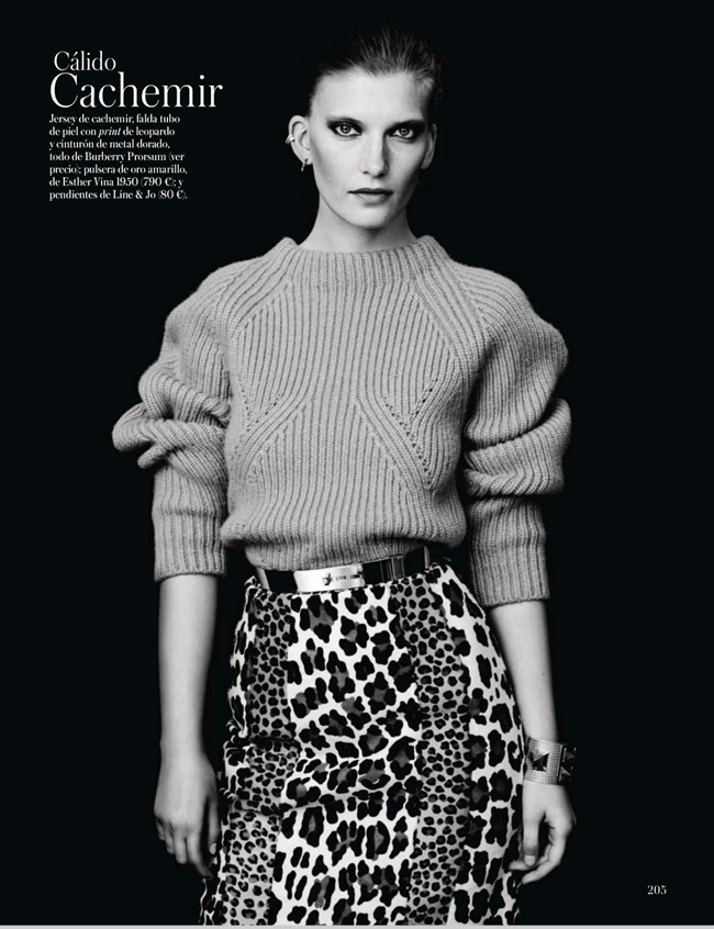 VOGUE SPAIN- Valerija Kelava in Nuevo Codigo by Hasse Nielsen. Claudia Englmann, September 2013, www.imageamplified.com, Image Amplified (2)