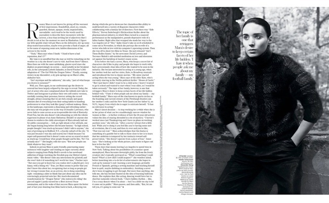 T STYLE MAGAZINE- Rooney Mara in This is Rooney Mara by David Sims. Joe McKenna, Fall 2013, www.imageamplified.com, Image Amplified (2)