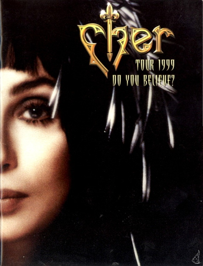 WE ♥ CHER- Cher for Do You Believe Tour Book, 1999. www.imageampilfied.com, Image Amplified