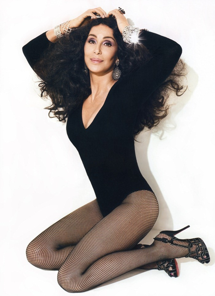 WE ♥ CHER- Cher for Vanity Fair, 2010 by Norman Jean Roy. www.imageampilfied.com, Image Amplified