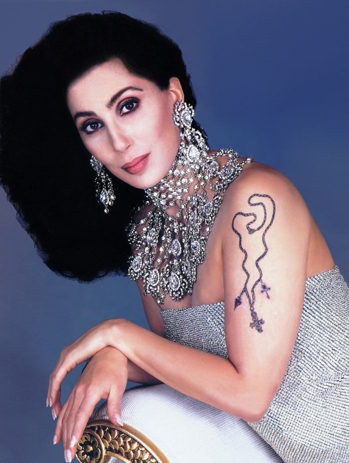 WE ♥ CHER- Cher in Vanity Fair, November 1990 by Herb Ritts. www.imageampilfied.com, Image Amplified (1)