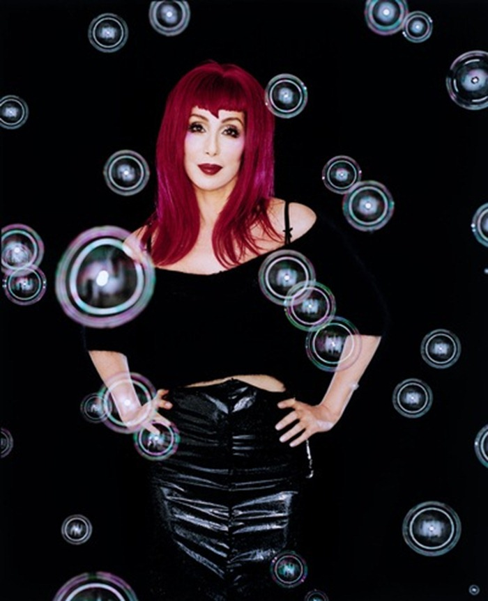 WE ♥ CHER- Cher The Greatest Hits, 1999 by Michael Lavine. www.imageampilfied.com, Image Amplified (3)