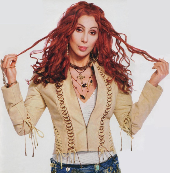 WE ♥ CHER- Cher for Farewell Tour Book 2002-2003 by Michael Lavine. www.imageampilfied.com, Image Amplified