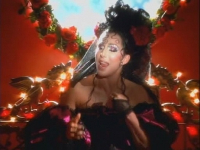 WE ♥ CHER- Cher in Dove'e L'Amore Music Video, 1999. www.imageampilfied.com, Image Amplified
