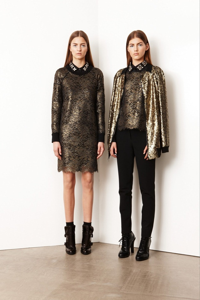 COLLECTION- Valery Kaufman & Emeline Ghesquiere for DKNY Resort 2014. www.imageamplified.com, Image Amplified   (1)