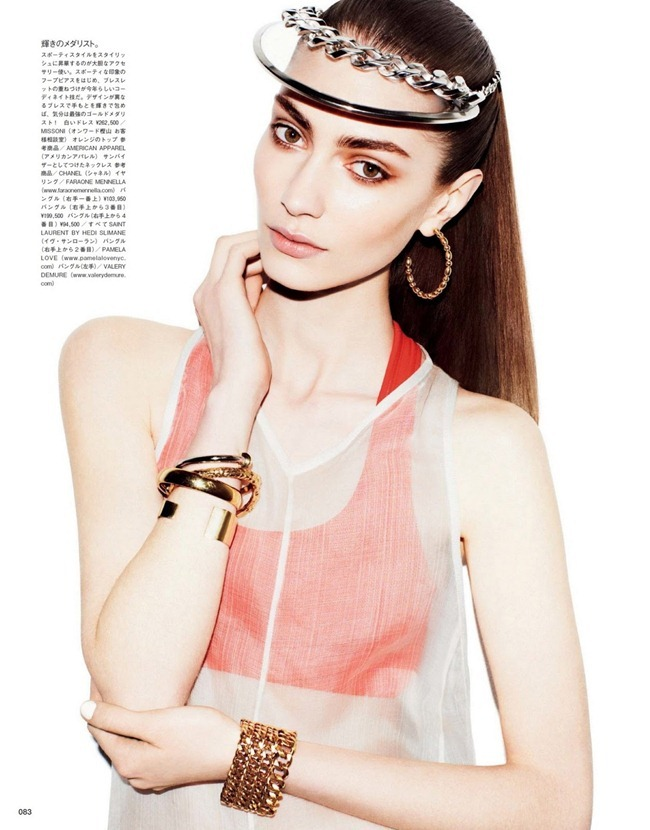 VOGUE JAPAN- Marine Deleeuw in Free Spirit Of Sport by Matt Irwin. Sophia Hesketh, July 2013, www.imageamplified.com, Image Amplified (5)