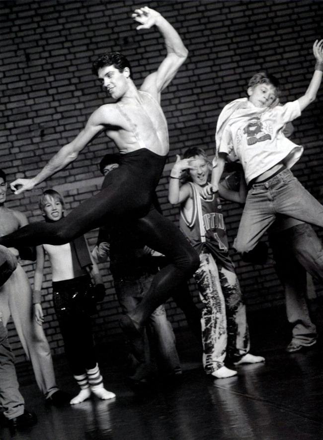 FEATURED MODEL- Roberto Bolle in An Athlete in Tights Pt 2, 2009 by Bruce Weber. www.imageamplified.com, Image Amplified (10)