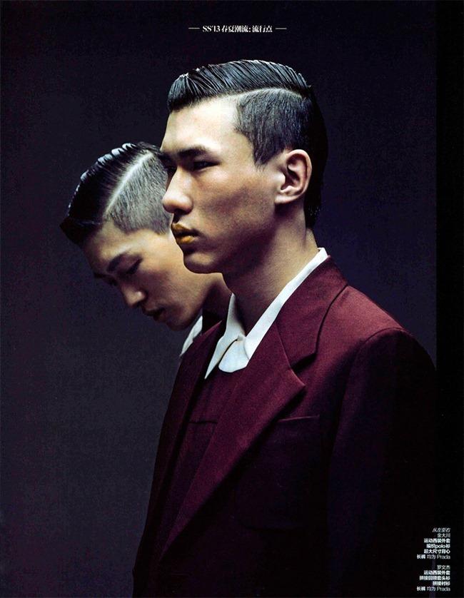 GQ STYLE CHINA- Jin  Dachuan & Luo Wenjie by Alexvi. Min Chun Liang, www.imageamplified.com, Image Amplified (2)