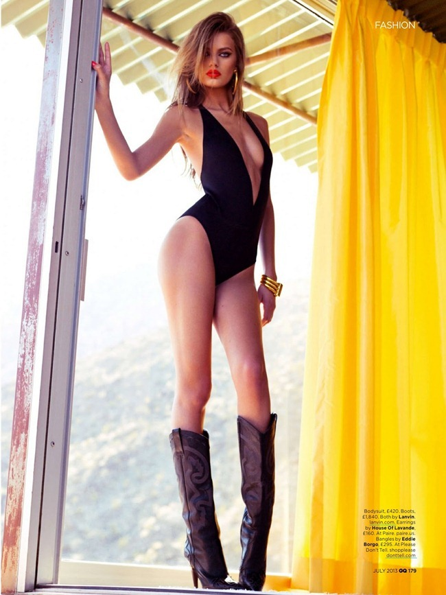 GQ UK- Bregje Heinen in Desert Storm by Stevie & Mada. Christopher Campbell, July 2013, www.imageamplified.com, Image Amplified (4)