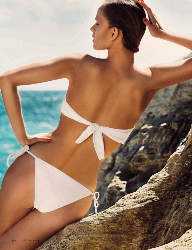 VANITY FAIR ITALIA- Natallia Krauchanka in Bikini Mon Amour by Signe Vilstrup. Simone Guidarelli, June 2013, www.imageamplified.com, Image Amplified (5)