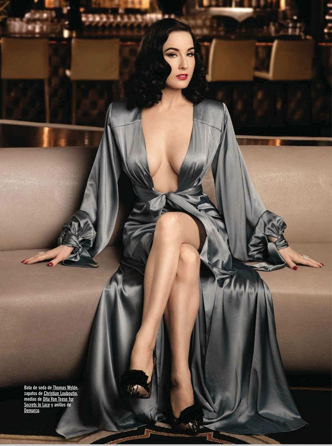 GQ SPAIN- Dita Von Teese by Albert Sanchez. June 2013, www.imageamplified.com, Image Amplified (2)