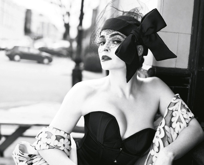 VOGUE UK- Helena Bonham Carter by Mert & Marcus, July 2013, www.imageamplified.com, Image Amplified