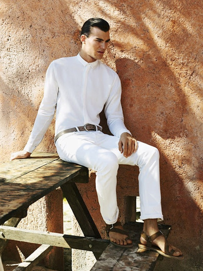 STYLE REWIND Patrick Kafka in Summer Bliss for GQ China, Summer 2012 by Dean Isidro. Grant Woolhead, www.imageamplified.com, Image amplified (2)
