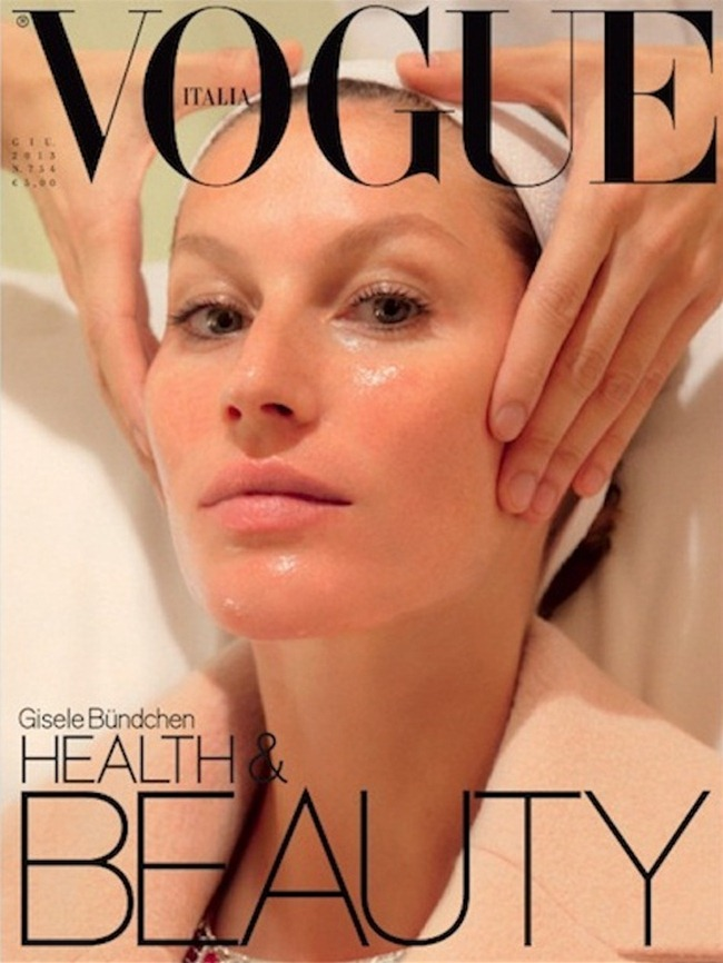 VOGUE ITALIA Gisele Bundchen in Luxury by Steven Meisel. Lori Goldstein, June 2013, www.imageamplified.com, Image Amplified (2)
