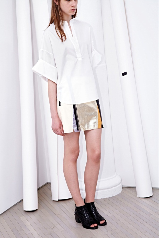 COLLECTION- Zoe Colivas & Joanna Tatarka for 3.1 Phillip Lim Resort 2014. www.imageamplified.com, Image Amplified (5)