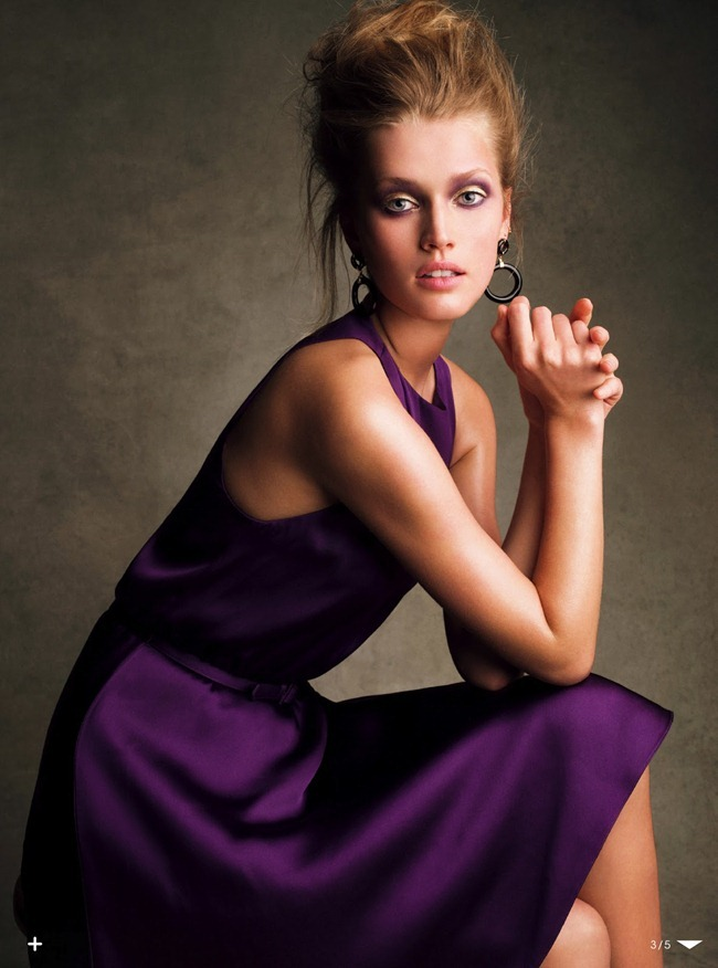 VOGUE JAPAN- Toni Garrn in The Embrace of the Style by Victor Demarchelier. Aurora Sansone, July 2013, www.imageamplified.com, Image Amplified (2)
