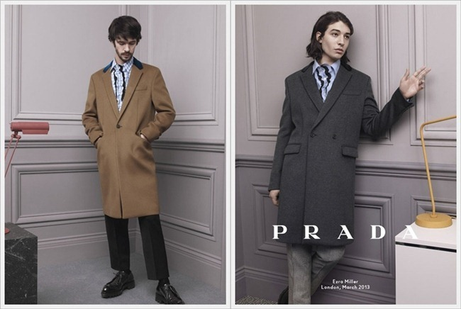 CAMPAIGN Christoph Waltz, Ben Whishaw & Ezra Miller for Prada Fall 2013 by David Sims. www.imageamplified.com, Image Amplified (2)