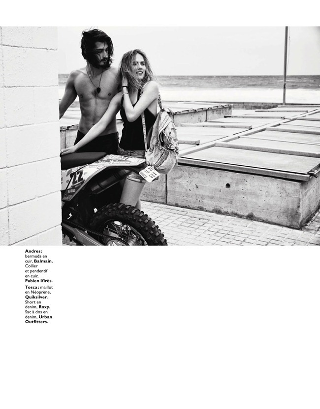 GRAZIA FRANCE- Tosca Dekker & Andres Risso in Sea for Two by Marc Philbert. Candice Fauchon, June 2013, www.imageamplified.com, Image Amplified (1)