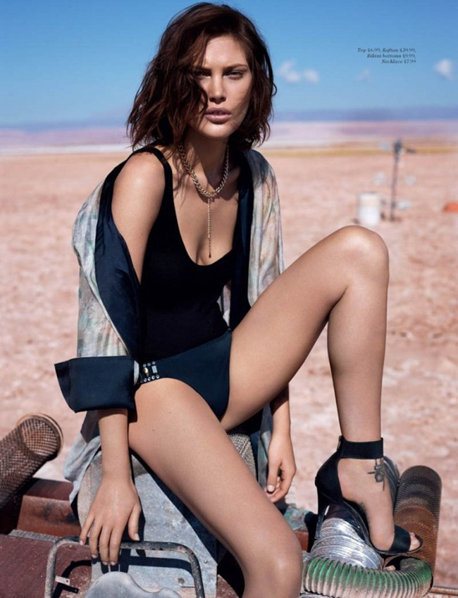 H&M MAGAZINE- Catherine McNeil by Catherine McNeil. Clare Richardson, Summer 2013, www.imageamplified.com, Image Amplified