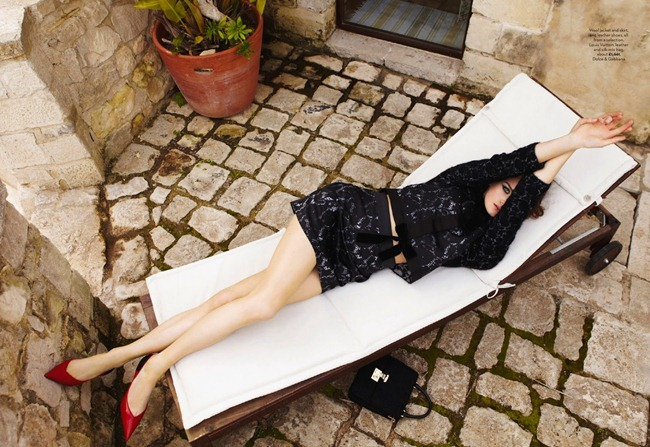 MARIE CLAIRE UK Milly Simmonds in La Dolce Vita by Kim Myers Robertson. Tiffany Fraser Steele, July 2013, www.imageamplified.com, Image Amplified (3)