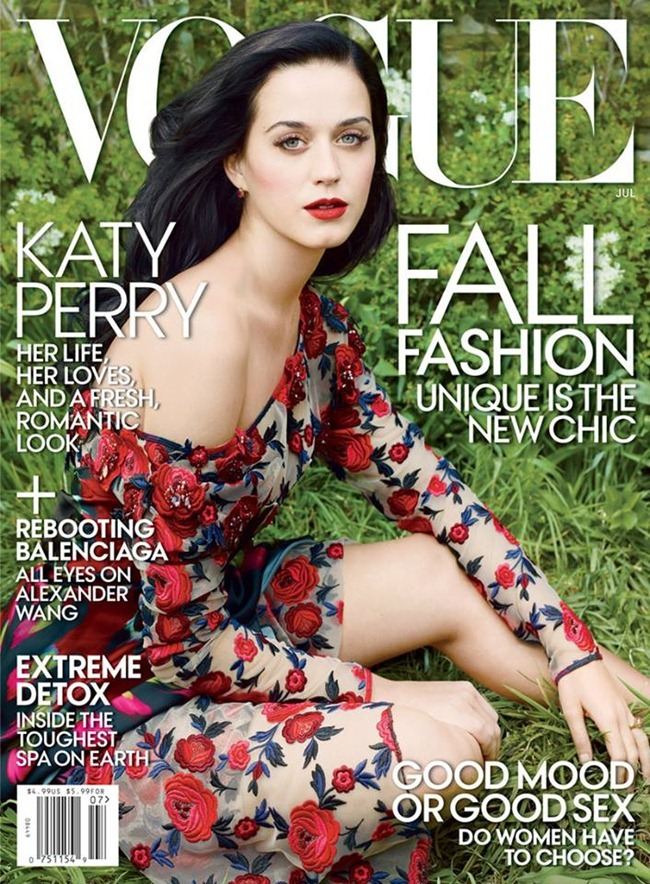 PREVIEW Katy Perry for Vogue Magazine, July 2013 by Annie Leibovitz. www.imageamplified.com, Image Amplified