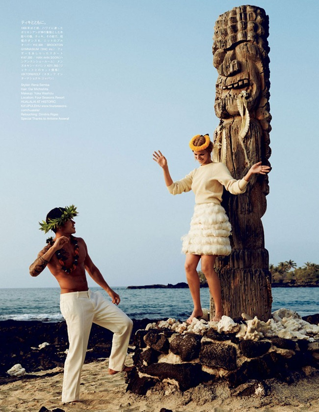 VOGUE JAPAN WEDDING Marloes Horst & Hunter Trevelyan Wyndham in They Call Her Pineapple Princess by Rene Habermacher. Rene Semba, www.imageamplified.com, Image Amplified (7)