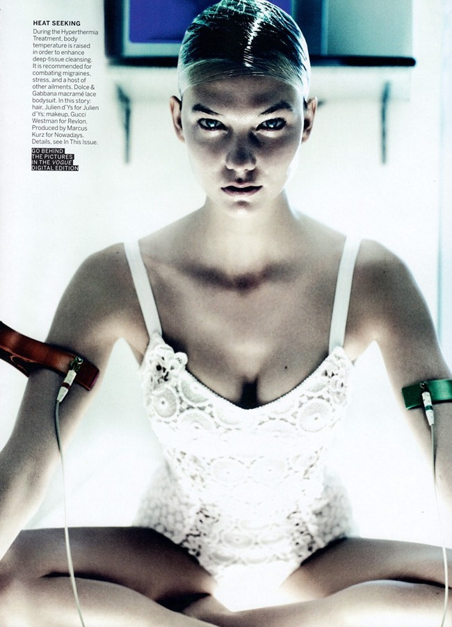 VOGUE MAGAZINE Karlie Kloss in Destination Detox by Mario Testino. Phylis Posnick, July 2013, www.imageamplified.com, Image Amplified (1)