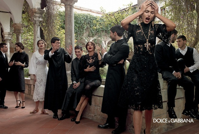 CAMPAIGN- Andreea Diaconu, Bianca Balti, Kate King & Monica Bellucci for Dolce & Gabbana Fall 2013 by Domenico Dolce. www.imageamplified.com, Image Amplified (7)
