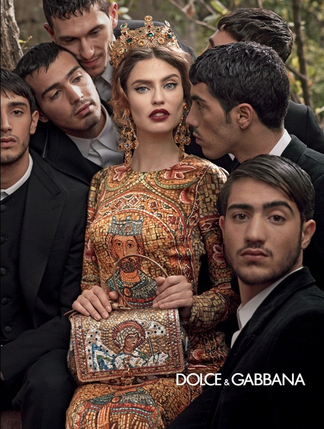 CAMPAIGN- Andreea Diaconu, Bianca Balti, Kate King & Monica Bellucci for Dolce & Gabbana Fall 2013 by Domenico Dolce. www.imageamplified.com, Image Amplified (10)