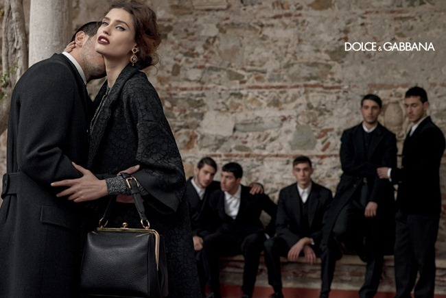 CAMPAIGN- Andreea Diaconu, Bianca Balti, Kate King & Monica Bellucci for Dolce & Gabbana Fall 2013 by Domenico Dolce. www.imageamplified.com, Image Amplified (5)