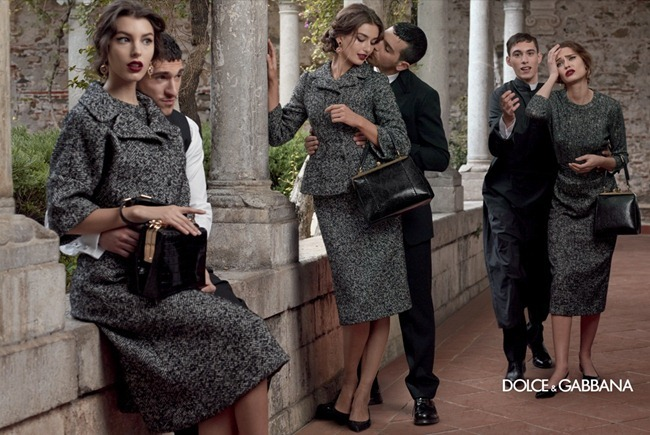 CAMPAIGN- Andreea Diaconu, Bianca Balti, Kate King & Monica Bellucci for Dolce & Gabbana Fall 2013 by Domenico Dolce. www.imageamplified.com, Image Amplified (8)