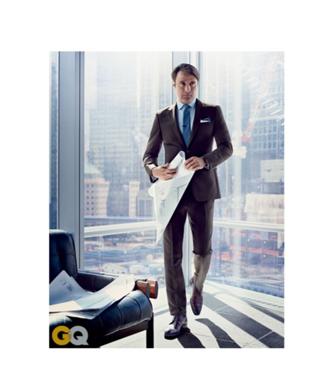 GQ MAGAZINE Mads Mikkelsen by Nathaniel Goldberg. July 2013, www.imageamplified.com, Image Amplified (3)