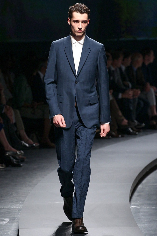 MILAN FASHION WEEK- Ermenegildo Zegna Men's RTW Spring 2014. www.imageamplified.com, Image Amplified (1)