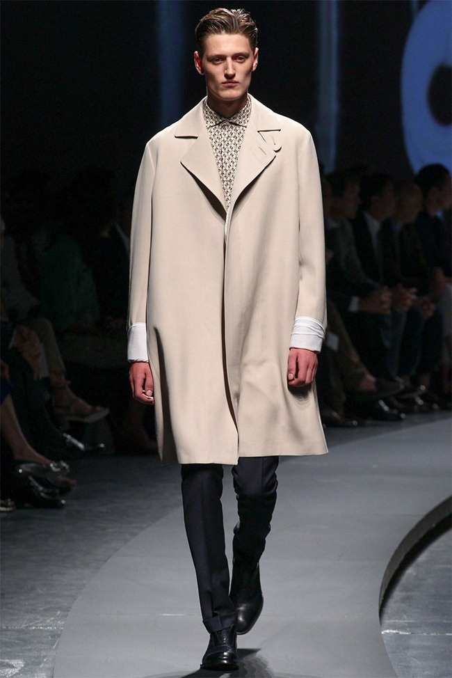 MILAN FASHION WEEK- Ermenegildo Zegna Men's RTW Spring 2014. www.imageamplified.com, Image Amplified (4)