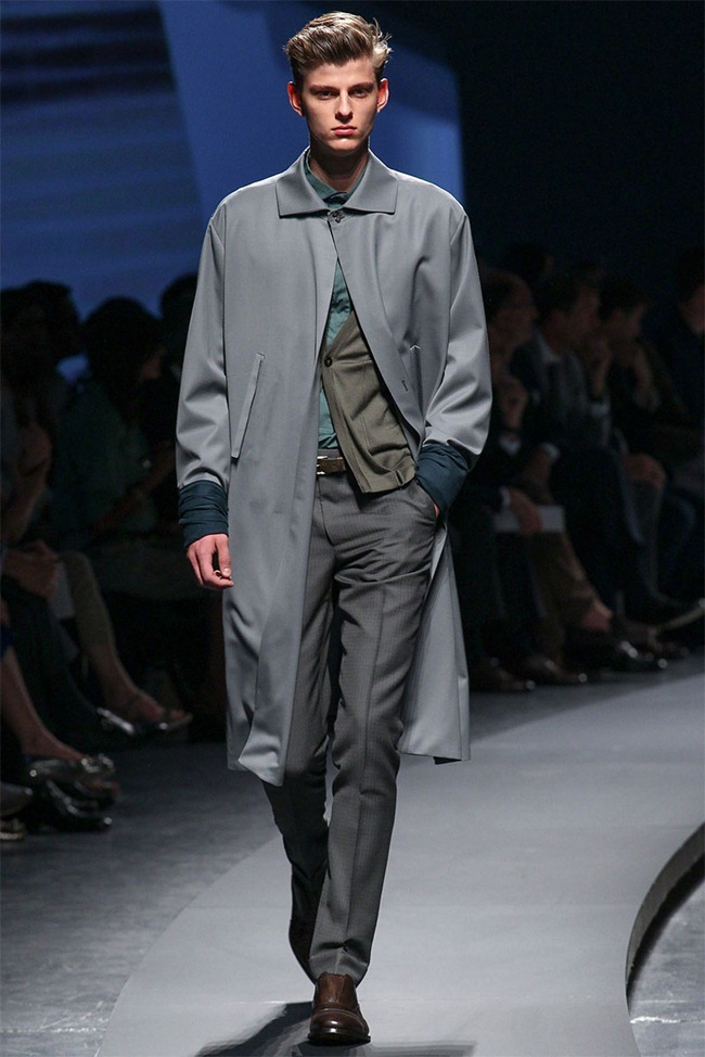 MILAN FASHION WEEK- Ermenegildo Zegna Men's RTW Spring 2014. www.imageamplified.com, Image Amplified (12)