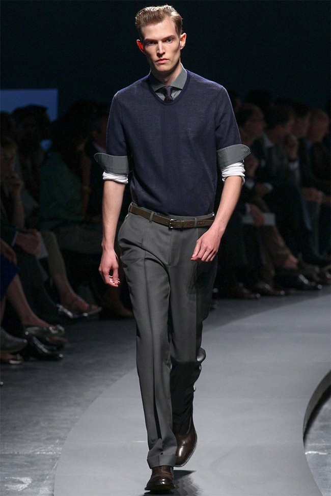 MILAN FASHION WEEK- Ermenegildo Zegna Men's RTW Spring 2014. www.imageamplified.com, Image Amplified (14)