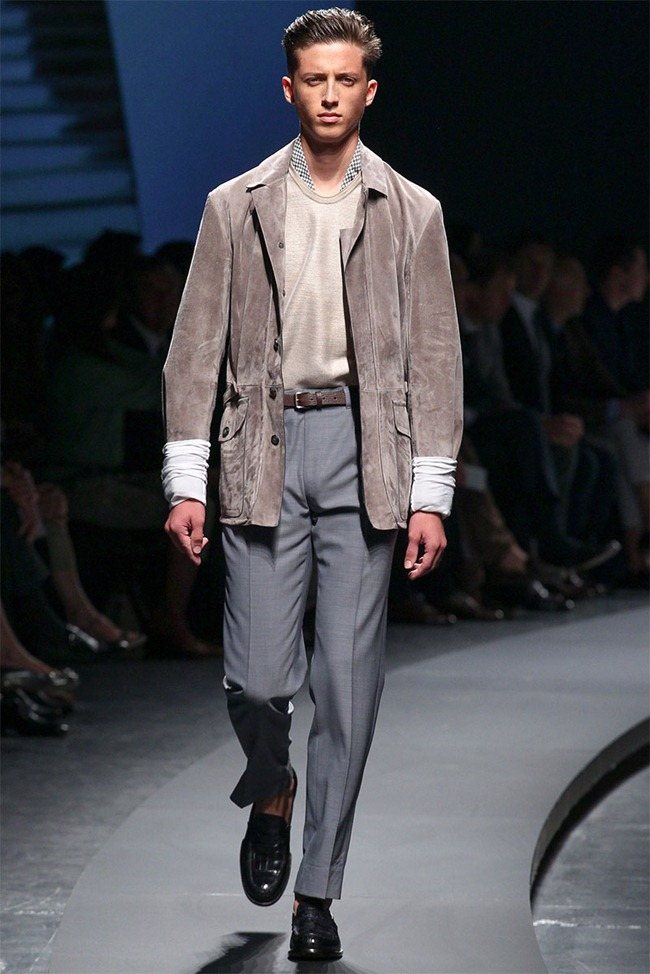 MILAN FASHION WEEK- Ermenegildo Zegna Men's RTW Spring 2014. www.imageamplified.com, Image Amplified (19)